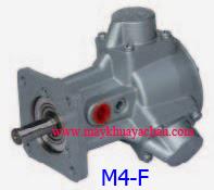 Motor khí nén giảm tốc M4-F