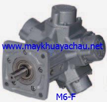 Motor khí nén giảm tốc M6-F